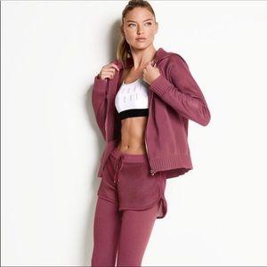 NWT Victoria's Secret Sport Scuba &Mesh ZIP Hoodie